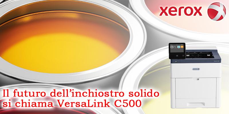 L'evoluzione di ColorQube si chiama VersaLink C500
