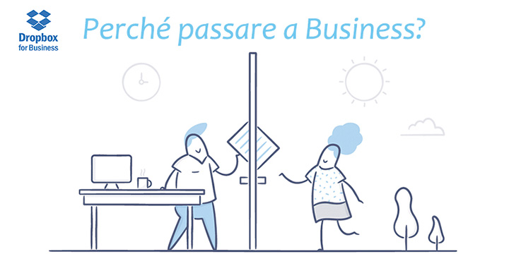 DropBox Business piacerà al tuo IT.