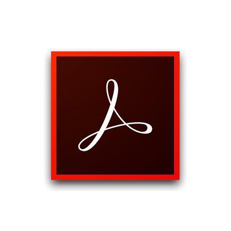 Adobe Acrobat Standard 2017 WIN Italiano Upgrade License TLP COM 1 User 1+