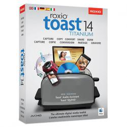 TOAST 14 TITANIUM MAC Italiano/English/German (Mini-Box)