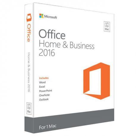 Microsoft Office Mac 2016 Home & Business Italiano 1 Utente / 1 Mac (Medialess)