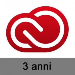 Adobe Creative Cloud per EDU abbonamento 36 mesi VIP EDU K-12 Site Device (min. 25 licenze)