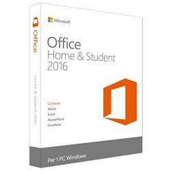Microsoft Office 2016 Home & Student Italiano 1 Utente / 1 Win (Medialess)