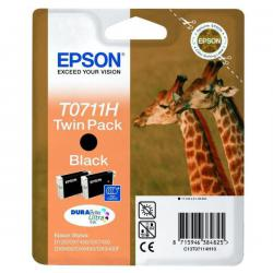 TWIN PACK T0711H 2CART.NERO