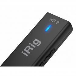 IK Multimedia iRig HD 2 interfaccia lightning chitarra/basso 24bit uscita cuffie