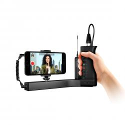 IK Multimedia iKlip A/V supporto broadcast audio video per smartphone e iPhone