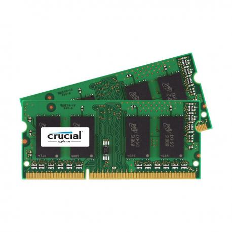 Crucial memory 8GB DDR3 1867 MT/s (PC3-14900) CL13 30,00 SODIMM 204pin 1.35V/1.5V for Mac