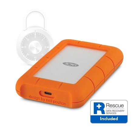 LaCie Rugged Secure - 2TB