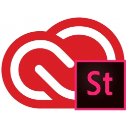 Adobe Creative Cloud for teams + Adobe Stock Small - RINNOVO Abbonamento 12 MESI Mac/Win ITALIANO