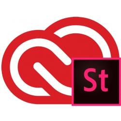 Adobe Creative Cloud for teams + Adobe Stock Small
