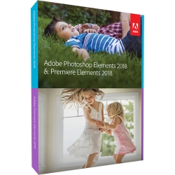 Adobe Photoshop & Premiere Elements 2018 Windows Italiano BOX DVD
