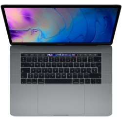 "Apple MacBook Pro 15"" Touch Bar, 6-Core i7 2.2Ghz, 256GB, grigio siderale"