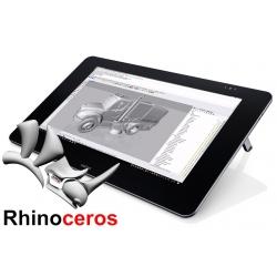 Rhinoceros 6 Commercial Win FULL + Wacom Cintiq 27QHD con penna