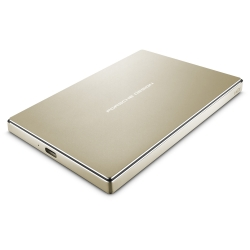 LaCie Porsche Design Mobile Drive 2TB USB-C / USB 3.0 GOLD EDITION