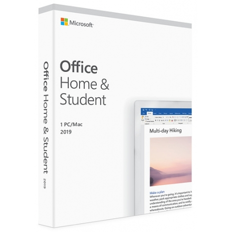 Microsoft Office Home & Student 2019 Italiano per Win e Mac (Medialess)