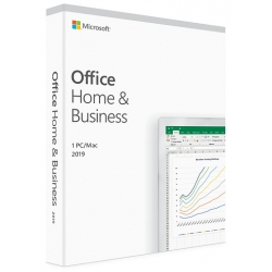 Microsoft Office Home & Business 2019 Italiano per Win e Mac (Medialess)