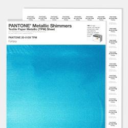 Pantone Metallic Shimmers Textile Paper Metallic [TPM] Sheet
