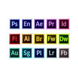 Adobe Single APP CC - Abbonamento 12 Mesi Mac/Win ITALIANO - PROMO minimo 3 licenze miste