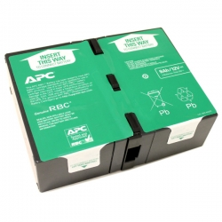 APC REPLACEMENT BATTERY CARTRIDGE RBC124