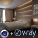 V-Ray 3 per Cinema 4D versione elettronica in abbonamento 1 anno