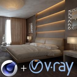 V-Ray per Cinema 4D versione elettronica in abbonamento 1 anno