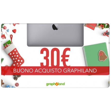 Graphiland Gift Card 30€