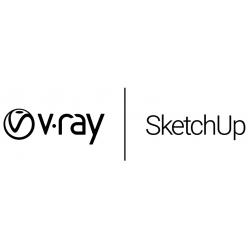V-Ray 5 per SketchUp Workstation in abbonamento 1 mese