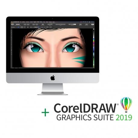 "Apple iMac 21.5"" Retina 4K + Abbonamento CorelDraw"
