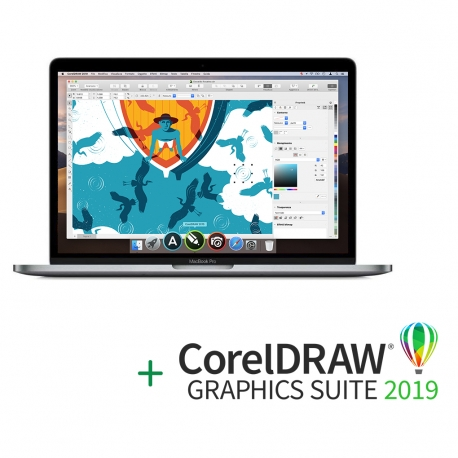 "Apple MacBook Pro 13"" Retina + Abbonamento CorelDraw"