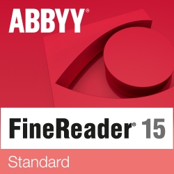 ABBYY FineReader 15 Standard per Windows EDU - versione elettronica