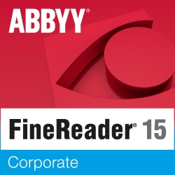 ABBYY FineReader 15 Corporate aggiornamento per Windows - versione elettronica