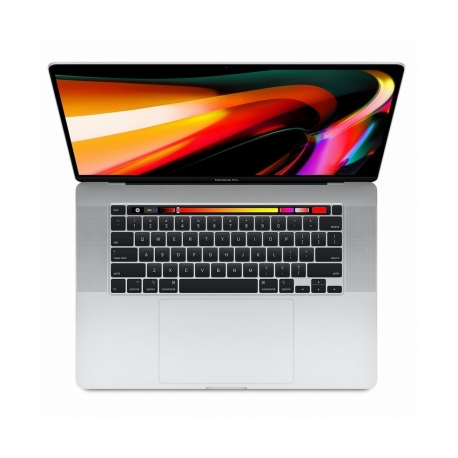 """Apple MacBook Pro 16"""" Touch Bar, 6-Core i7 2.6GHz, 512GB, Argento"""