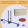PolyShaper AZUL Starter Pack: Macchina + Polistirolo + Glitter