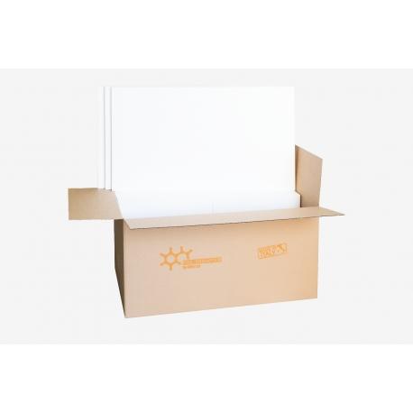 Pacco di polistirolo 100x50 cm EPS bianco