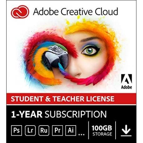 Adobe Creative Cloud per Studenti e Docenti - Abbonamento 12 mesi