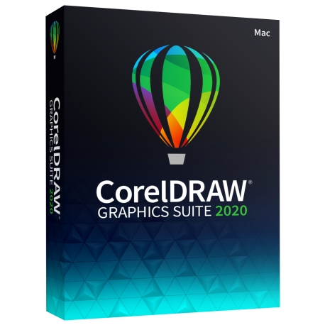 CorelDRAW Graphics Suite 2020 Box IT Completo per Mac