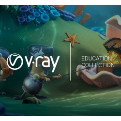 V-Ray Education Collection per studenti e docenti
