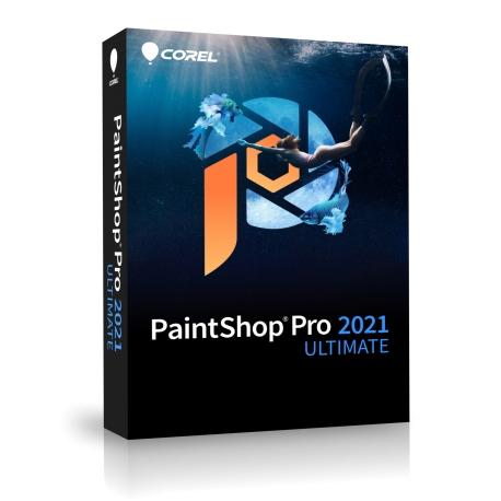 PAINTSHOP PRO 2021 ULTIMATE MIN BOX