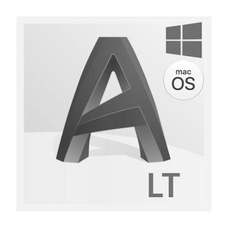Autodesk AutoCAD LT per Win e Mac - Rinnovo Abbonamento Annuale con Supporto Avanzato