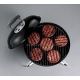 Weber Smokey Joe Black - Barbecue Portatile a carbone 37cm