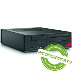 PC Desktop - FUJITSU E410 SFF Core i3 8GB RAM 240GB SSD Win 10 Pro [RICONDIZIONATO]