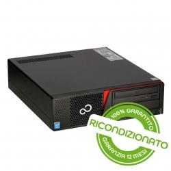 PC FUJITSU Esprimo E720 SFF Core i3 8GB RAM 240GB SSD Win 10 Pro [RICONDIZIONATO]