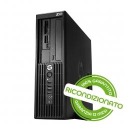 PC Workstation - HP Z220 Xeon E3 16GB RAM 256GB SSD Win 10 Pro [RICONDIZIONATO]