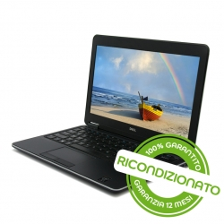 PC Notebook - DELL Latitude E7240 con UMTS integrato Core i7 8GB RAM 256GB SSD Win 10 Pro [RICONDIZIONATO]