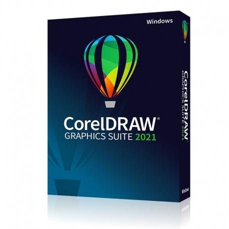 CorelDRAW Graphics Suite 2021 Business Box IT per Win