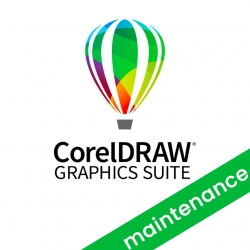 CorelDRAW Graphics Suite Upgrade CorelSure Maintenance rinnovo 1 anno per Win