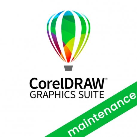 CorelDRAW Graphics Suite Upgrade CorelSure Maintenance rinnovo 1 anno per Win