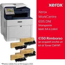 Modifica: Xerox WorkCentre 6515 DNI + Kit Extra Toner Completo Standard