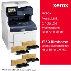 Xerox VersaLink C405 DN con Kit Extra Toner Completo Standard + Rimborso 150 Euro da Xerox FINO AL 30/06/2021