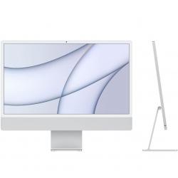 Apple iMac 24'' Retina 4,5K M1 8-Core GPU 8-Core con 8GB di RAM - Argento